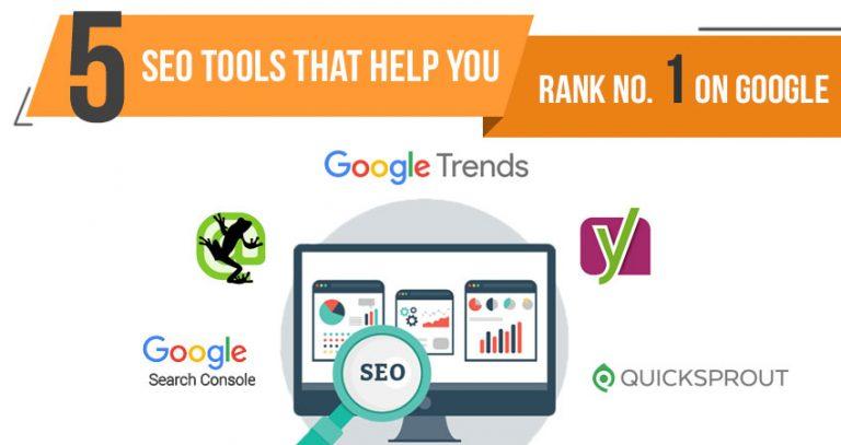 5 SEO Tools That Help You Rank No  1 On Google | Dean Infotech